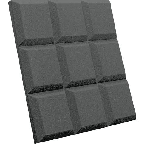 auralex sonoflat grid sound absorption panels  pack
