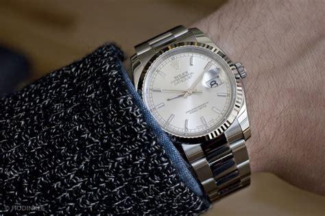 Rolex Swis Ori J455 1980 An per week around the wrist the rolex datejust