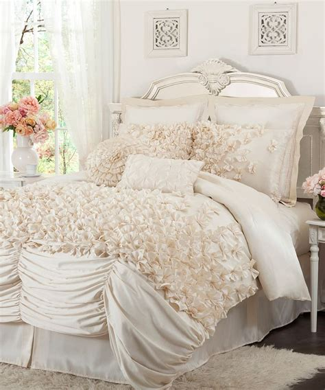 Lush Decor Lucia 4 Comforter Set by Ivory Lucia Comforter Set Bedding Ideas Lush Decor 3 4