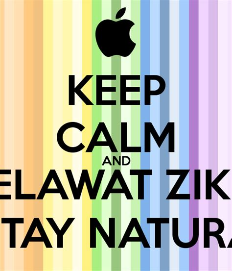 T Shirt Zikir keep calm and selawat zikir stay keep calm and