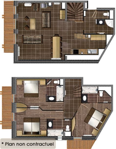 Appartement luxe Val thorens : Location appartement luxe avec les Balcons
