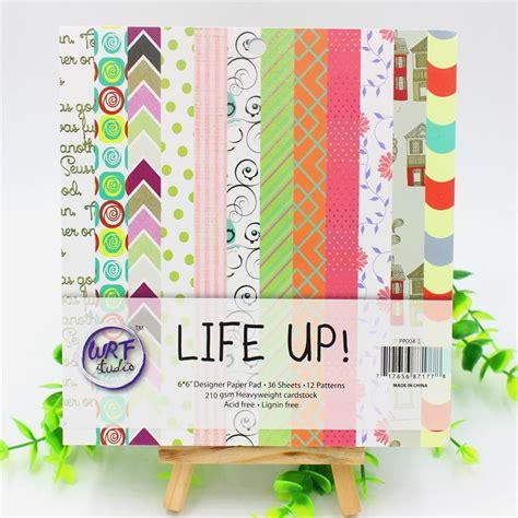 Acid Free Craft Paper - 6 acid free up pattern decorative scrapbooking