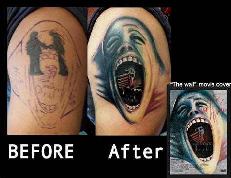 tattoo cover up before after gallery haley adams tattoo tattoos body part arm before