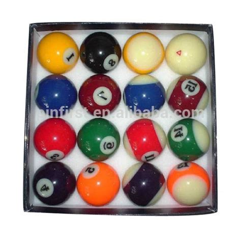 new billiard colophony pool balls colorful buy