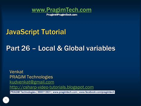 javascript pattern variable sql server net and c video tutorial local and global