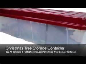plastic artificial christmas tree storage container box