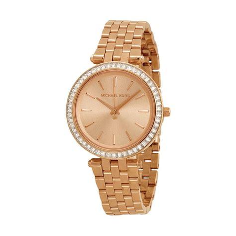 Jam Tangan Wanita Michael 6 jual michael kors mk3366 original jam tangan wanita gold