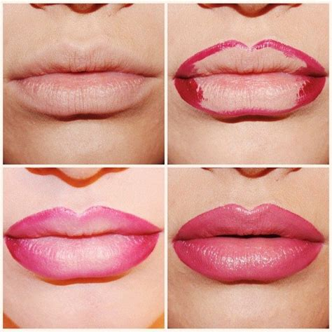 how to do an ombre color trending the ombre lip how to do an ombre lip