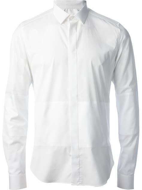 Collar Shirt 1 valentino collared shirt in white for lyst