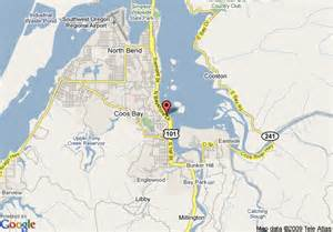 map of inn coos bay coos bay