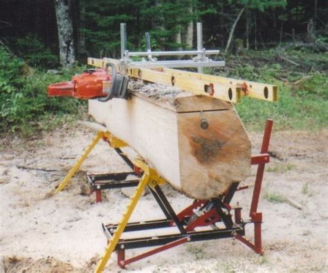 chainsaw mills log beds the chainsaw milling on location