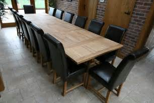 big dining room table refectory tables refectory oak dining table large