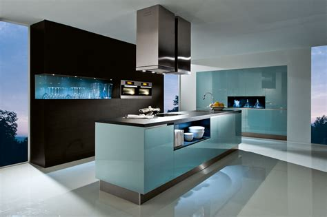 Contemporary Style Kitchen Cabinets by German Kitchens Supply Only Black Rok Kitchen Design