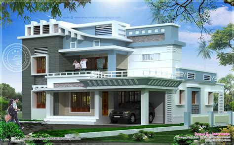 2547 square exterior home elevation house design plans