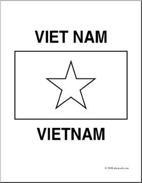clip art flags vietnam coloring page abcteach