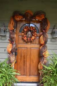 front door decorated fall pictures photos images