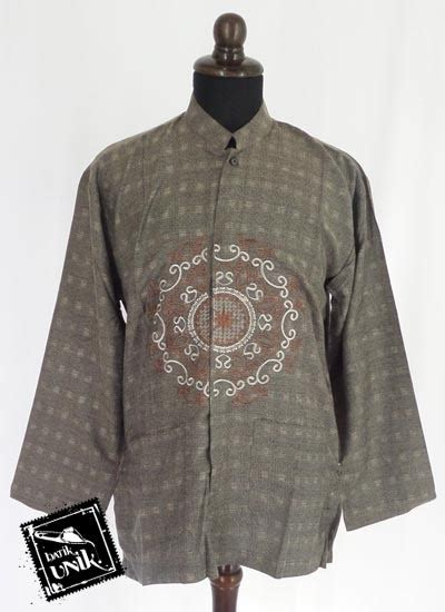 Baju Muslim Dewasa Batik Baju Muslim Koko Dewasa Katun Bordir Koko Batik Murah