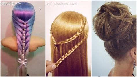 beautiful hairstyles the most beautiful hairstyles tutorials january 2017