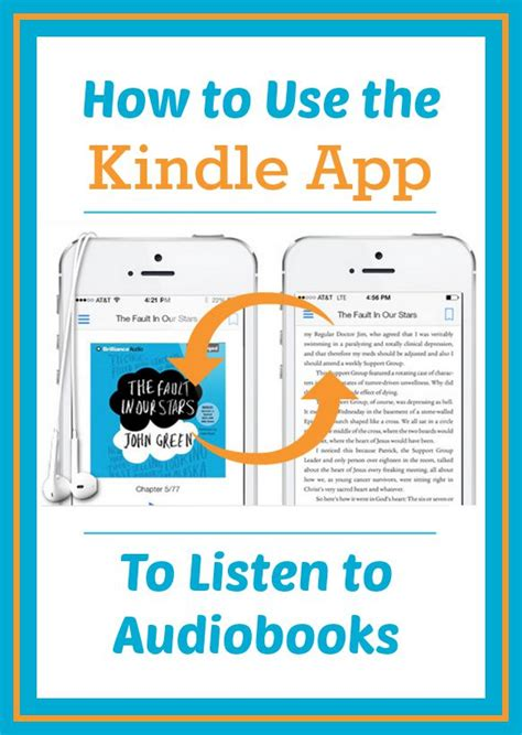 what can i do books how to listen to audiobooks on your kindle app
