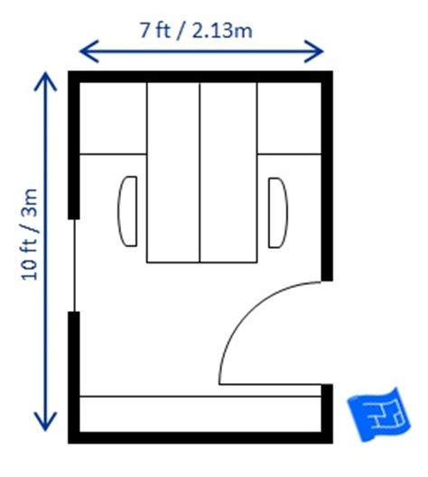 home office floor plans