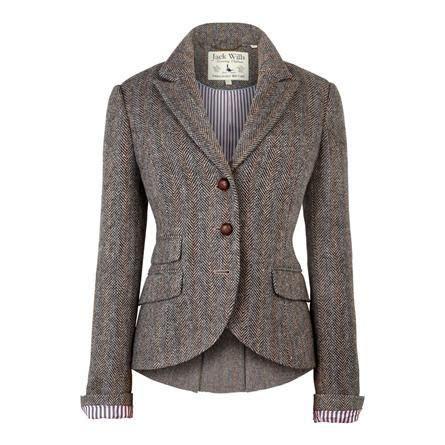 cute pattern blazers jack wills ladies otterbury blazer tweed herringbone