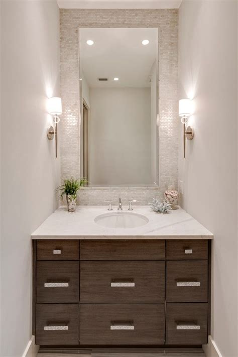 amazing small bathrooms 25 best powder room mirrors ideas on pinterest small