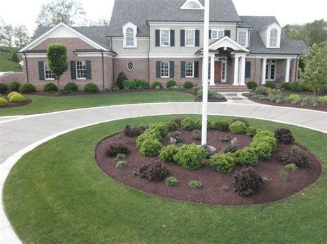 Flagpole Landscaping Ideas Front Yard Landscape Design Ideas Studio Design Gallery Best Design