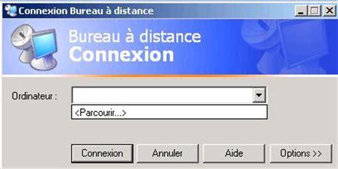 raccourci connexion bureau à distance installation de l affichage 224 distance du bureau xp
