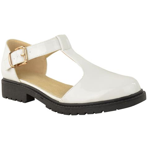 cut shoes for womens school shoes cut out chunky dolly