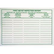 bilingual report card template aid kit inspection report cards bilingual 25 pack