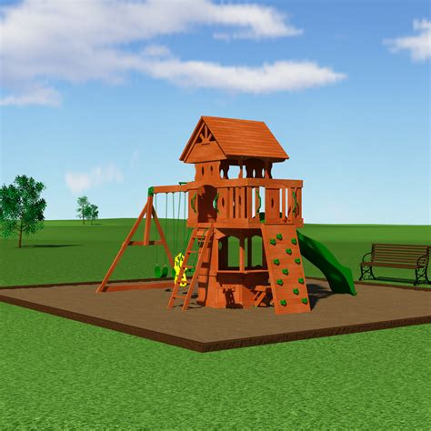 woodland swing set backyard discovery woodland all cedar swing set reviews