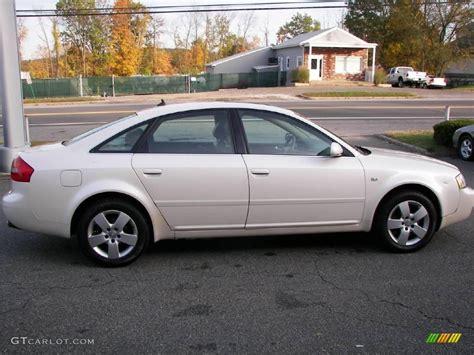 2002 Audi A6 A6 2002 pearlescent white audi a6 2 7t quattro sedan