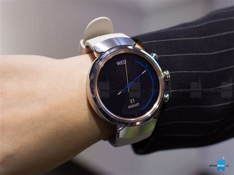 Asus ZenWatch 3 hands on: a thing of beauty   PhoneArena