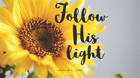 daily quote follow the son mormon channel