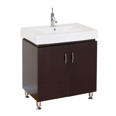 30 Modern Bathroom Vanity by Dorchester 30 Quot Modern Bathroom Vanity With Porcelain