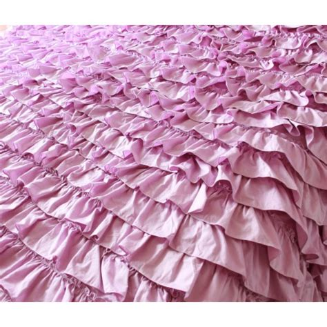 purple ruffle bedding purple ruffle bedding
