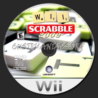 wii scrabble scrabble dvd label dvd covers labels by customaniacs