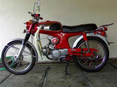 1966 honda s90 classic motorcycle pictures