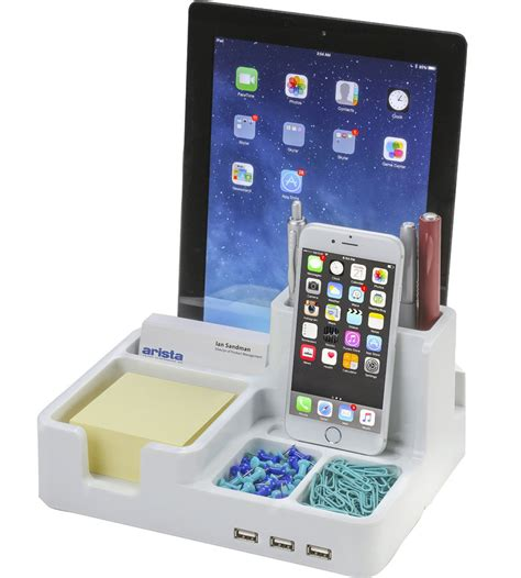 electronic charging station desk organizer desktop charging station in charging stations