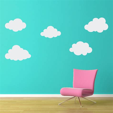 cloud stickers for walls white cloud wall decals