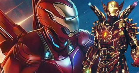leaked iron man concept art teases suit hero