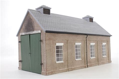 Gwr Engine Sheds by Hattons Co Uk Hornby R9667 U Gwr Engine Shed Pre Owned