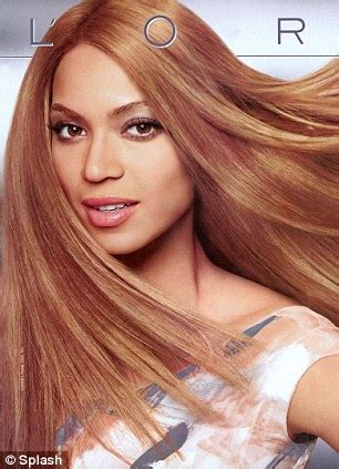 Cvs L Oreal Hair Color by Beyonc 233 In White Skin Row Again Controversial Photo Shows