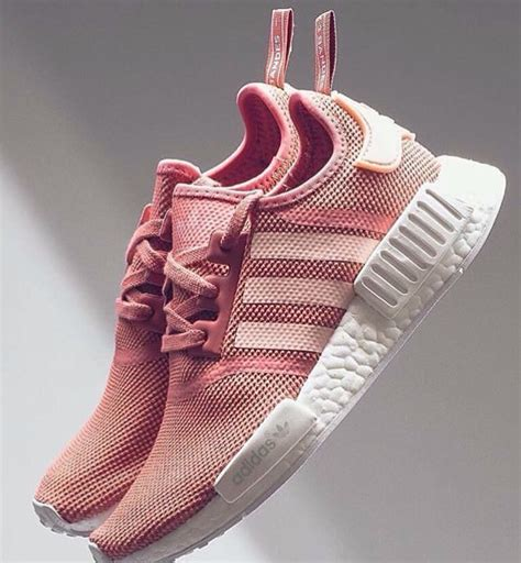 gold pink adidas shoes on the hunt