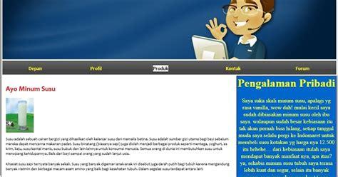 cara membuat web sederhana menggunakan dreamweaver berbagi itu indah membuat website sederhana menggunakan