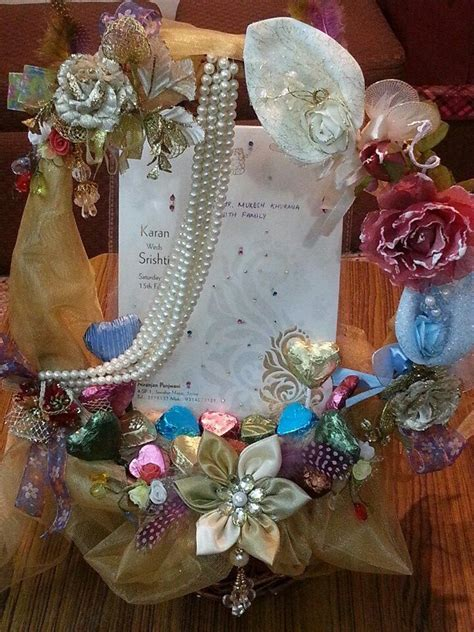 indian wedding card decorations wedding invitation card decorative basket ring platters