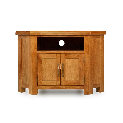corner oak cabinet with doors rushden solid oak furniture corner tv cabinet stand