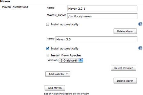 tutorialspoint jenkins java maven not found in jenkins stack overflow