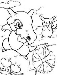 Pokemon Pikachu Az Dibujos Para Colorear
