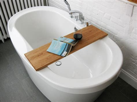 bathtub tray for laptop simple diy bathtub trays for reading made from teak wood ideas